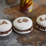 Macarons aux 2 chocolats et Cacolac