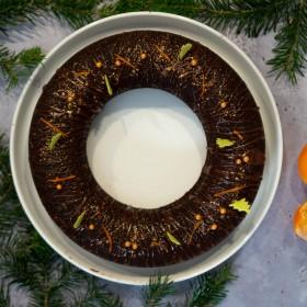 Cake chocolat, clémentine & Cacolac