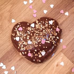 Éclair d'amour au chocolat