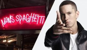 Eminem ouvre un restaurant éphémère pour te faire goûter les spaghettis de sa mère !