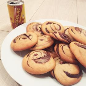 Cookies fourrés chocolat Cacolac