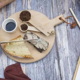 Terrine de Foie Gras au vin chaud et crumble cacao