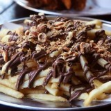 Des frites au ... Nutella !