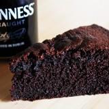 Gâteau au chocolat et à la Guinness