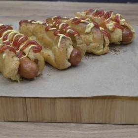 Éclair façon Hot Dog