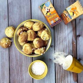 Chouquettes coco/Cacolac Tropical