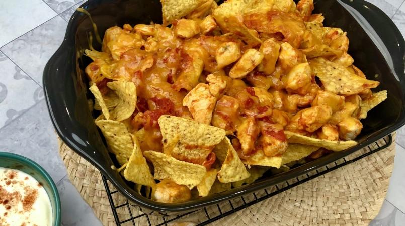 Gratin de nachos