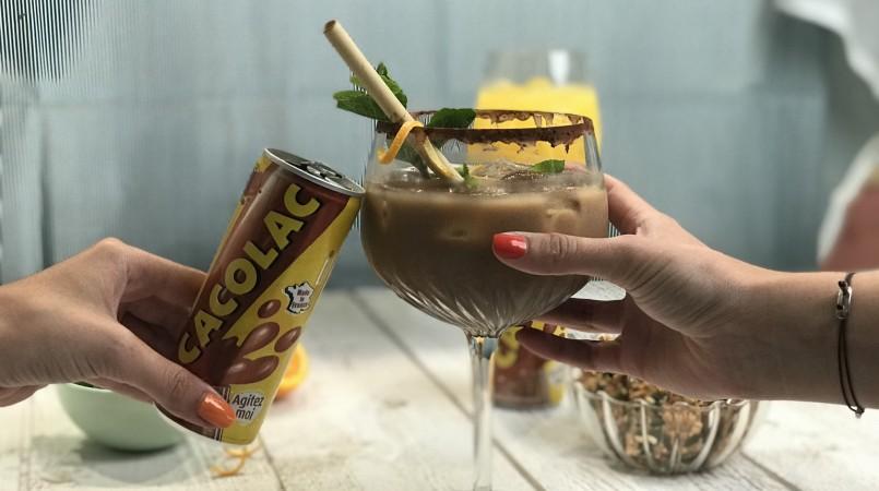 Cockail sans alcool au Cacolac