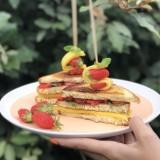 Club sandwich aux fruits