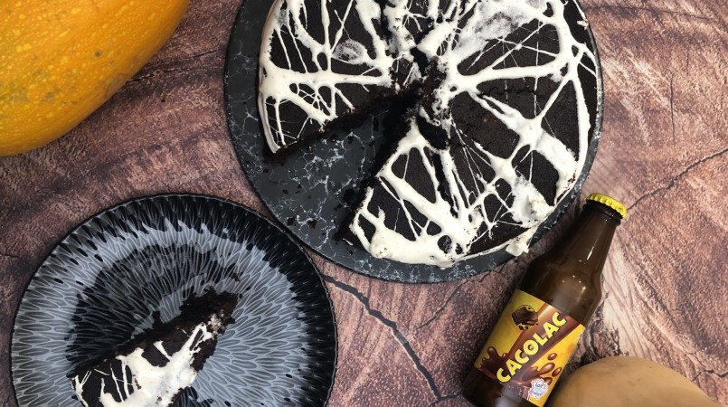 Gâteau d'halloween au Cacolac