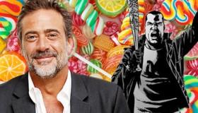 The Walking Dead : Jeffrey Dean Morgan possède un magasin de bonbons !