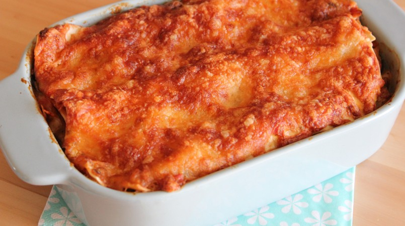 Lasagnes aux légumes et crème de soja