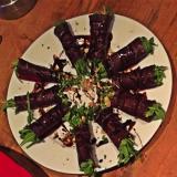 Roulés viande de Grison/roquette