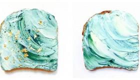 Comment se préparer des mermaid toasts :