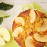 Moelleux pomme citron au son d'avoine et sirop d'agave