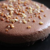 Mousse au chocolat façon cheesecake