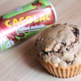 Muffins au Cacolac Praliné Noisette
