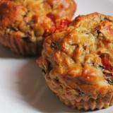 Muffins champignon tomate