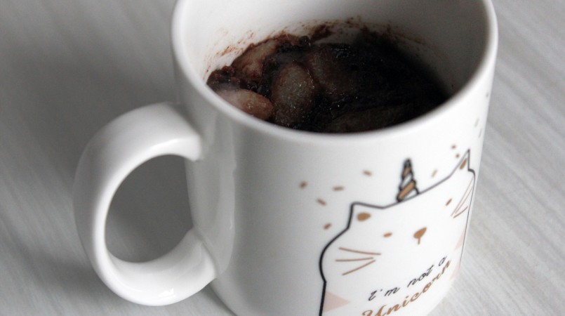 Recette Mugcake Choco Poire