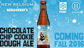 Ben & Jerry's et New Belgium lancent une bière saveur cookie dough !