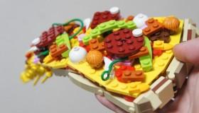 Des constructions Lego qui donnent faim !