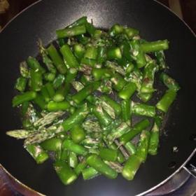 Pâtes aux asperges