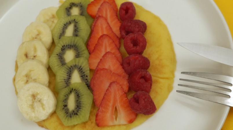 Omelette sucrée Suitétudes