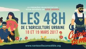 Les 48h de l'Agriculture Urbaine à Nantes