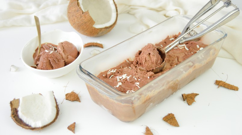 Glace chocolat & coco