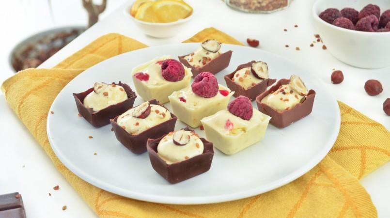 Bouchées glacées chocolat