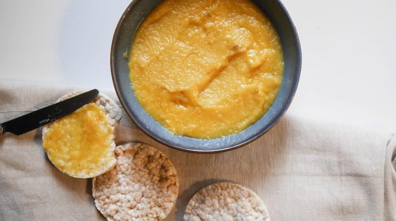 Beurre de pomme à tartiner