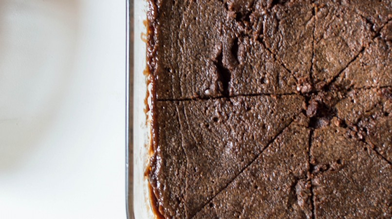 Fondant chocolat-caramel micro-ondes