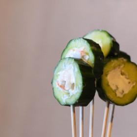 Concombre pops