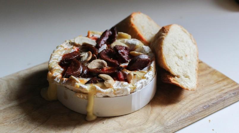 Camembert rôti chorizo