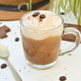 Café glacé au chocolat