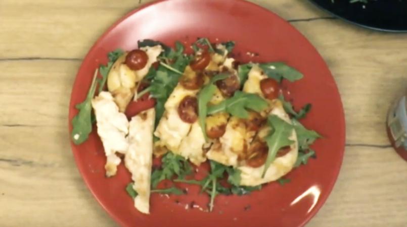 Recette : les pizzas naans