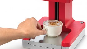 Maker Ripple ou la machine qui imprime sur café !