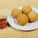 Risotto Ball, coeur Boursin