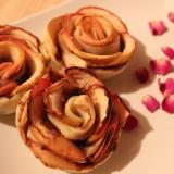 Roses feuilletées