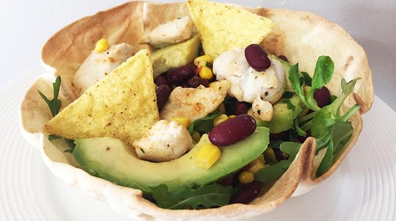 Salade tortilla