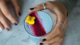 Le smurf latte, la nouvelle boisson tendance !