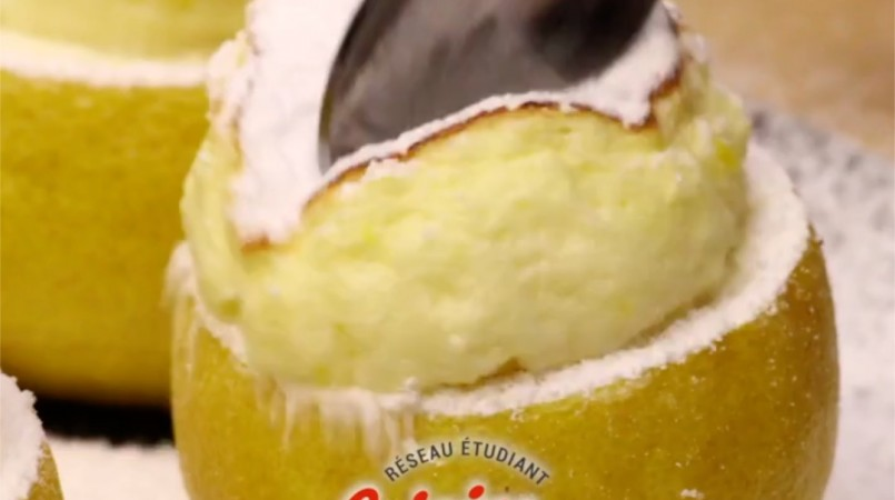 Soufflé citron