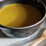 Soupe de carottes au curcuma et lait de coco