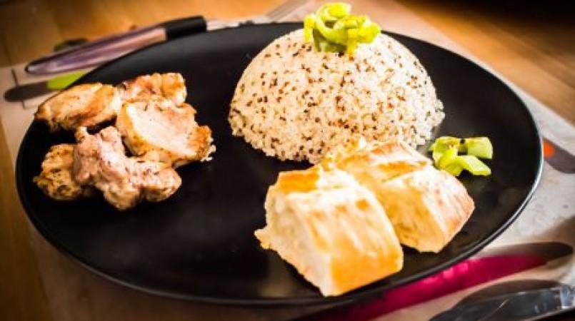 Filet mignon au quinoa
