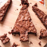 Transforme un brownie en sapin de Noël en 10 min !