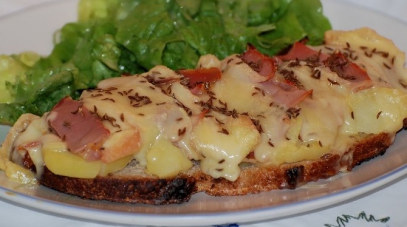 Tartine fa on raclette cuisine ta m re - Fromage de tete facon grand mere ...