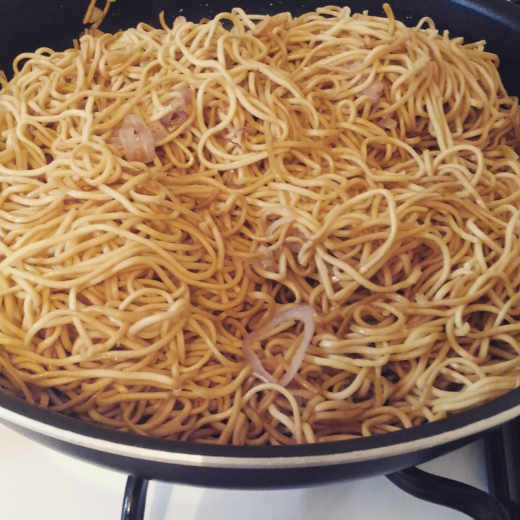 Nouilles Chinoises à La Feignasse Et Au Poulet Cuisine Ta Mère