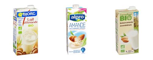 lait amande