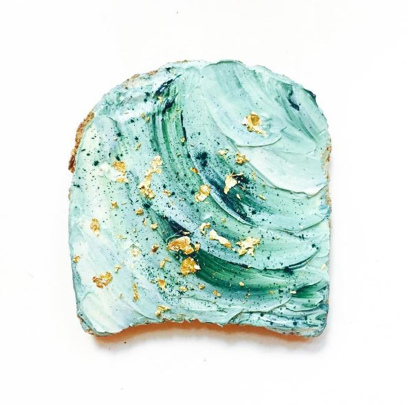 mermaid-toast